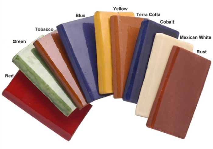 mexican talavera tile colors