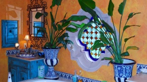 Mexican tile designs for bathroom